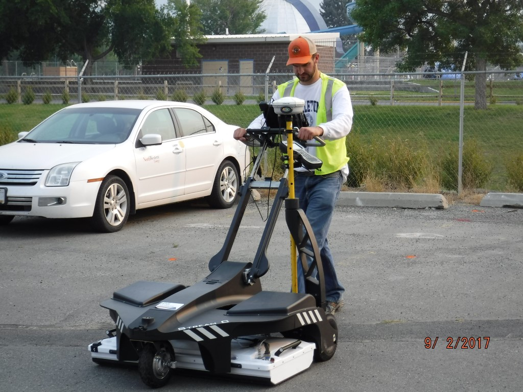 Ids Stream C Ground Penetrating Radar Utility Mapping Services Inc