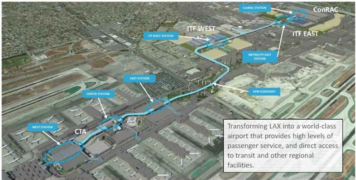 The Los Angeles World Airportsu0027 (LAWA) LAX Landside Access Modernization  Program (LAMP) Project Will Continue To Transform LAX Into A World Class  Airport By ...